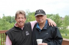 Jack Stanton and Frank Kosek, Co-Chairs of the 2013 Welcome House Golf Outing